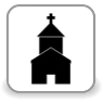 W okolicy - Kościół - 500 m