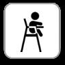 W pensjonacie - Krzesełko dla maluchów